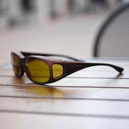 Polarized fitover sunglasses