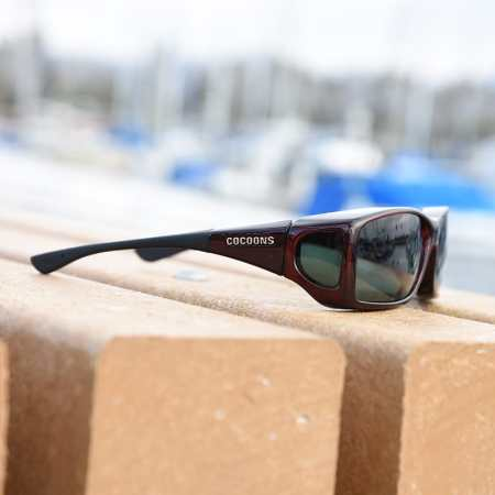 Black Cherry Cocoons Fitover sunglasses