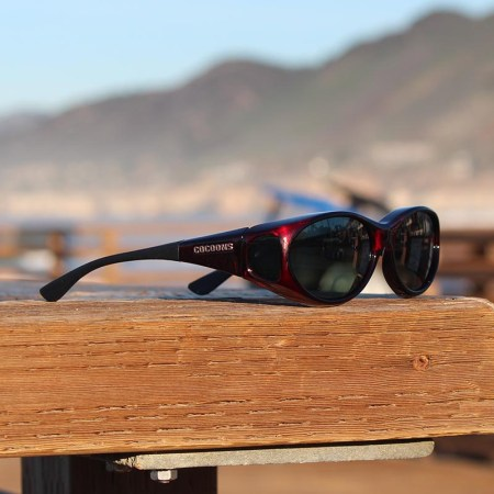Black Cherry Stream Line fitover sunglasses