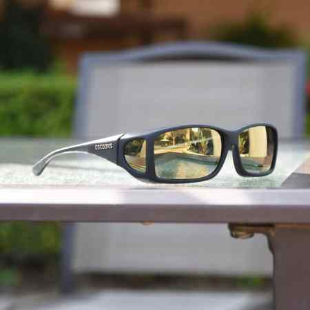 Mirrored fitover sunglasses for men and women