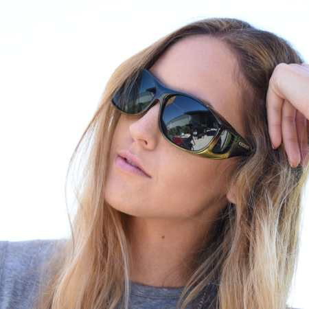 professional Cocoons fitover sunglasses in caramel
