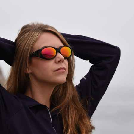 Cocoons Fitover sunglasses with Rose Gold Finish