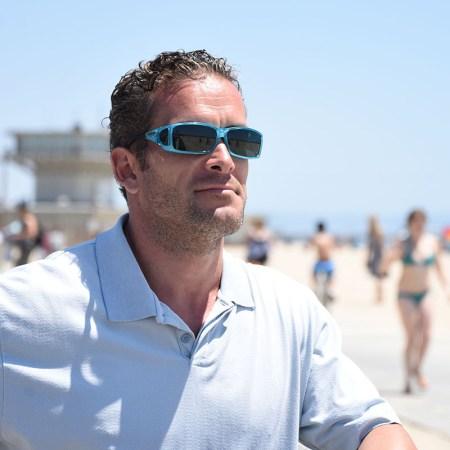 aqua fitover sunglasses at the beach