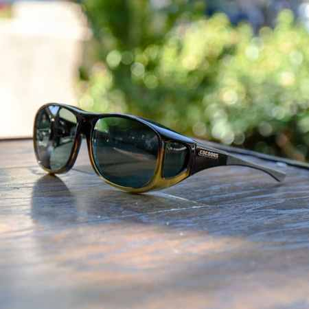 two tone Cocoons fitover Sunglasses