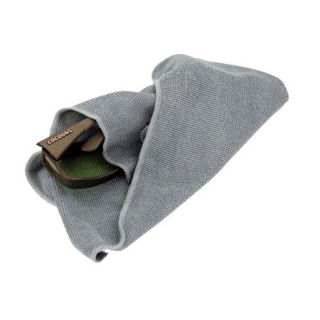 Oversized eyewear cleaning cloth is extremely soft and is perfect for cleaning even the largest eyewear lenses