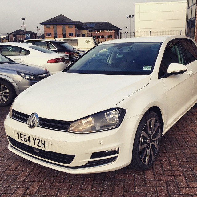 Delivered to London today! VW Golf GT TDI!