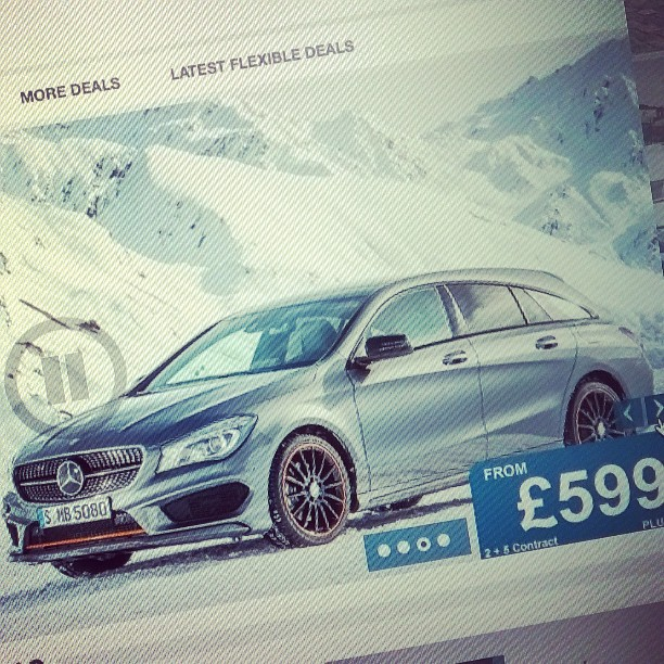 Mercedes CLA Shooting Brake added to latest offers!