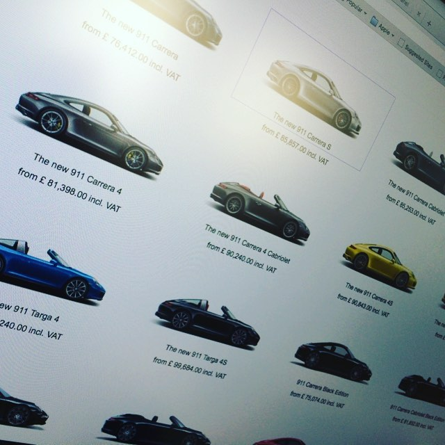 We are doing a bit of research on the new Porsche 911 for our latest blog post! Keep an eye out at www.cocoonvehicles.co.uk