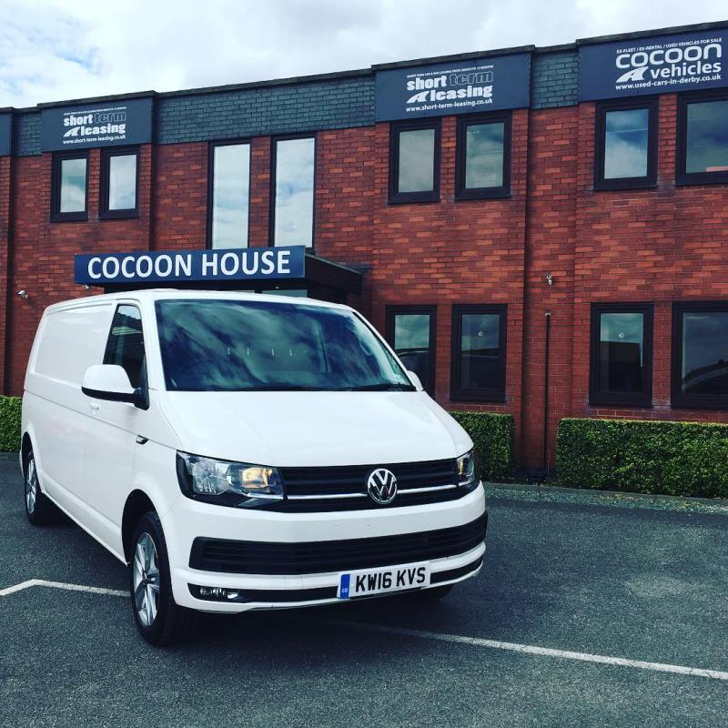 We don't just do Short Term Cars! We also do vans like this fabulous VW Transporter T6 Panel Van off out to a customer!