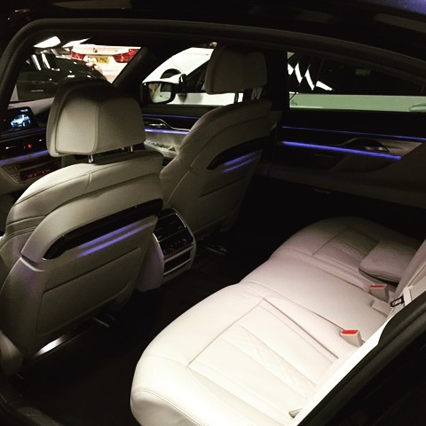 """We love driving cars! But something is making us want to sit in the back of this BMW! Short and Long Term Car Leasing : 0330 330 9425 : or GOOGLE """"Cocoon Vehicles"""""""
