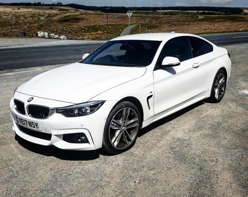 "Delivered today to an existing customer in : BMW 4 Series Coupe! The Two Door! Short and Long Term Car Leasing : 0330 330 9425 : or GOOGLE ""Cocoon Vehicles"""
