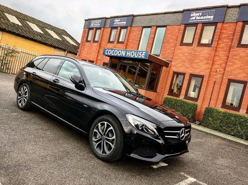 Mercedes C Class Estate Plugin Hybrid! Off out to a new customer today on Short Term flexi!  Flexible Vehicle Leasing | No Silly Upfront Payments | Individuals & Corporate Welcome  01332 290173