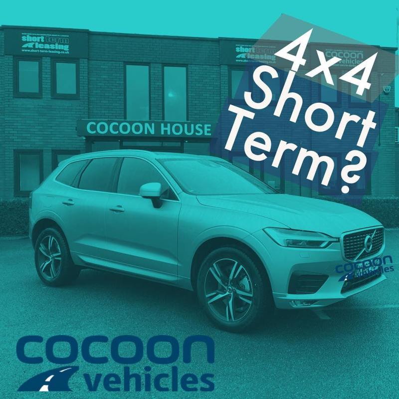 Don't let the stop you! Short Term 4x4's available with next working day delivery when you've got a credit line in place. Free Delivery in England and Wales