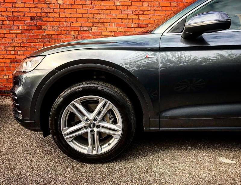 Just Arrived! Audi Q5 2.0 TFSI S Line ready to go out on a Flexi-rent to Bradford.