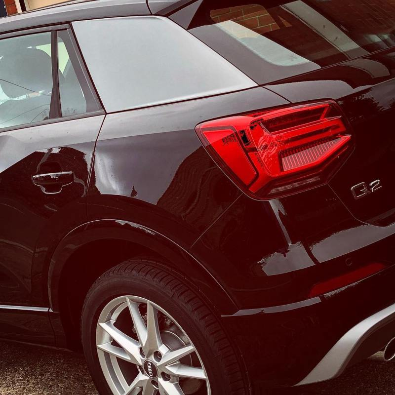 Audi Q2 arrived and ready to go out tomorrow! @audiuk
