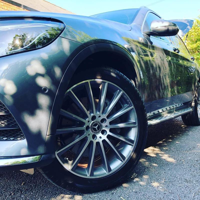 Loving the wheels on this latest @mercedesbenz GLC to hit the streets in #England! This one has just been delivered to Cocoon HQ and is off to Surrey