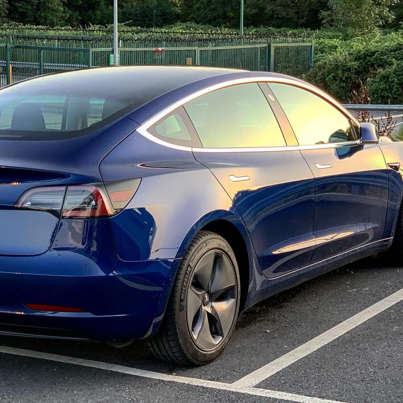 Great first spot of a @teslamotors Model 3 in this weekend! What an absolutely amazing car!