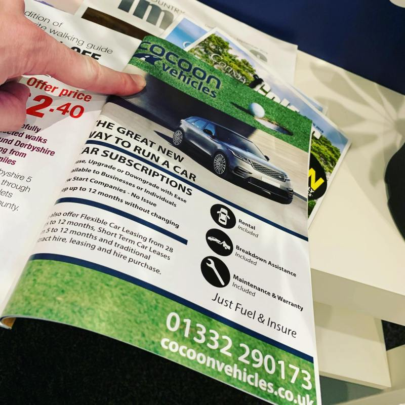 Great to see our advert in the @countryimagesmagazine Golfers Magazine again!
