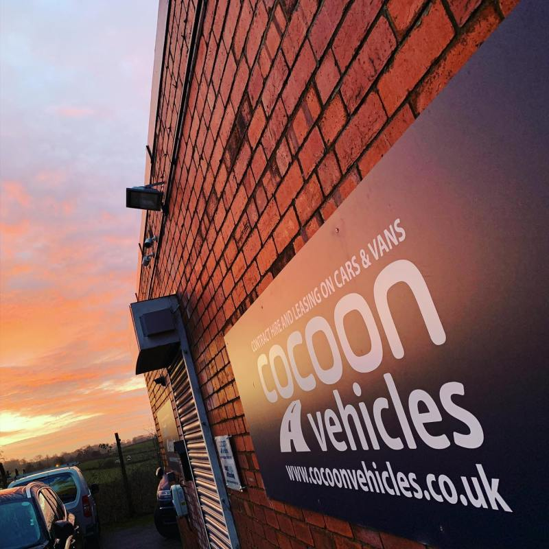 Lovely morning over the offices - time to get some short term car leases delivered!