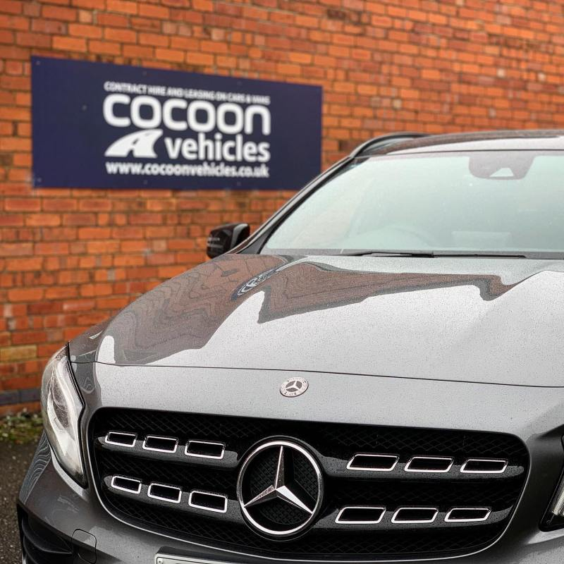 Mercedes GLA 200 going out to a customer today on a 6 month car lease. Customer opts for Short Term Car Lease's so he can have a new car on a regular basis!