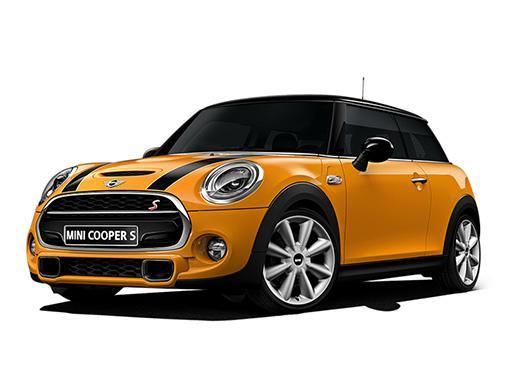 Mini Hatchback delivered to London