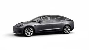 Tesla Model 3 Saloon Long Range AWD on 12 month car lease