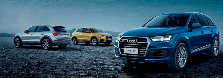Audi Short-Term Car Lease Range