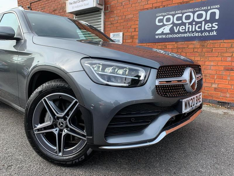 Quick photo of the Mercedes GLC which was delivered to a new customer in last week.