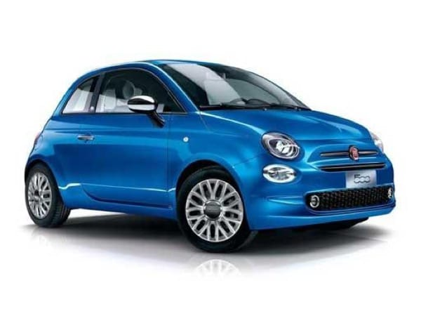 Fiat 500 Hatchback 1.0 Mild Hybrid Lounge on 6 month car lease