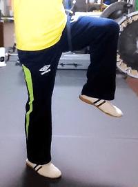 足の動き+思考を習う