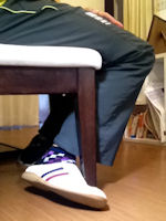 仕草を習う-足絡め