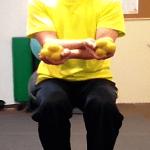 脳と身体機能の向上・・・両手と視覚の連動