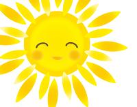 太陽の光を浴びましょう!