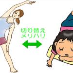 疲れが取れやすい体を作ろう3−4
