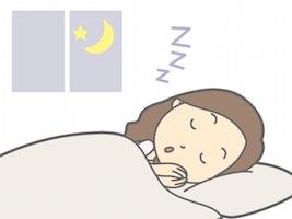 睡眠・快眠する女性