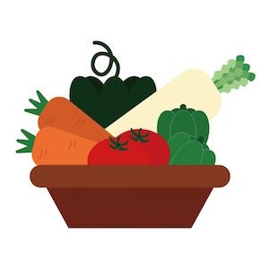 酵素を多く含む野菜