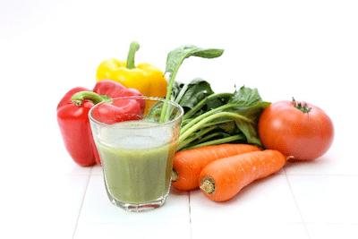 野菜とスムージー-