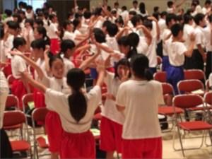 中学生ボランティア講演会の様子