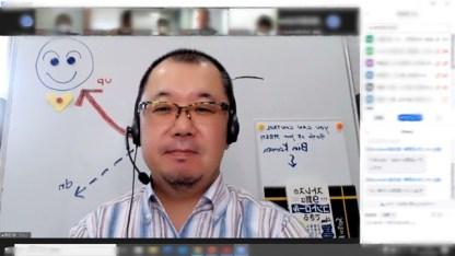 オンライン管理職研修(zoom)の様子
