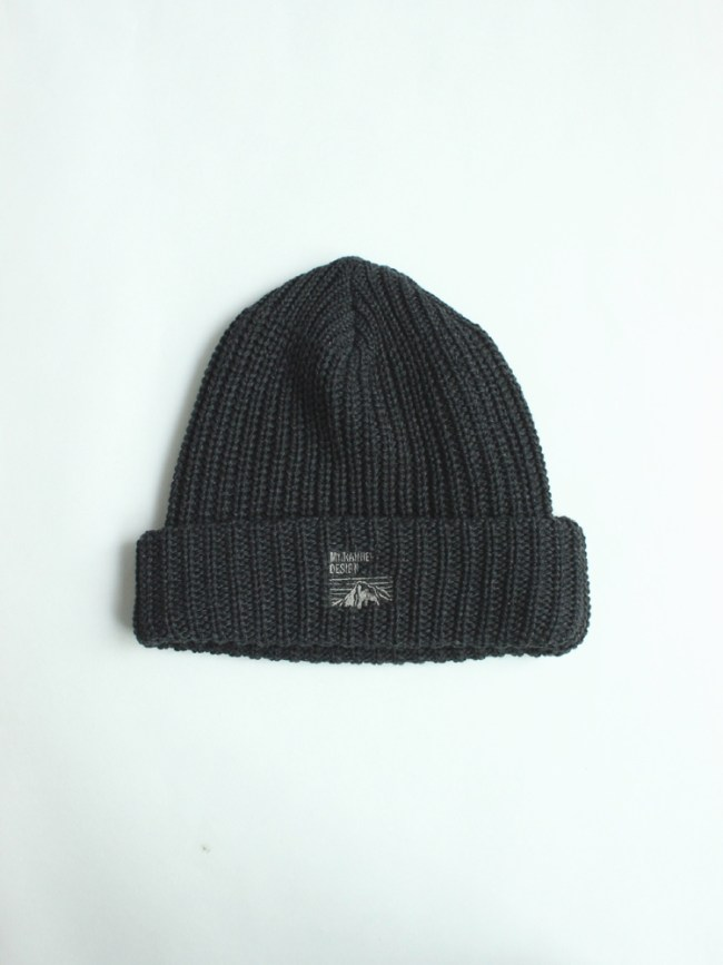 Mt RAINIER DESIGN|KNIT HAT #C.GREY