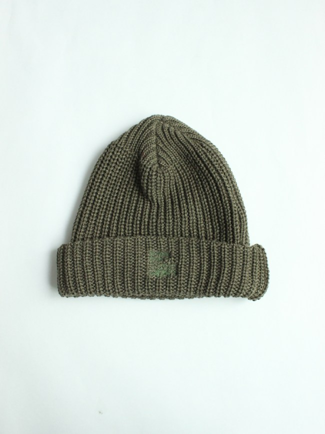 Mt RAINIER DESIGN|KNIT HAT #OLIVE
