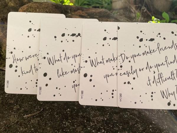 Mindful cards