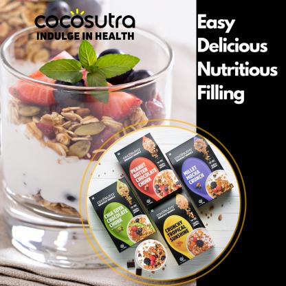 Cocosutra Granola - Breakfast Cereal - Healthy Snack
