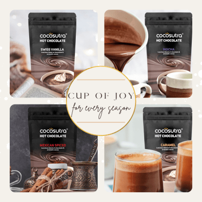 Cocosutra Hot Chocolate Mix Collection - Cup of Joy - Best for Hampers & Gifts
