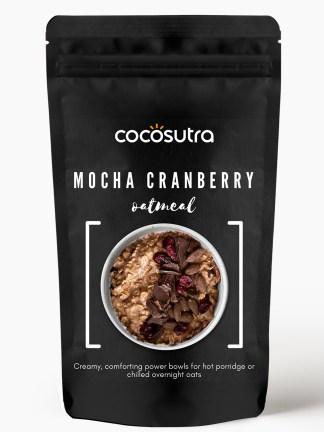 Cocosutra Mocha Cranberry Oatmeal - Gluten free Rolled Oats