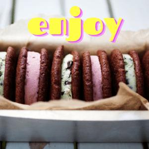 Cookie Icecream Sandwitch - Cookie Dough Mix - Vegan
