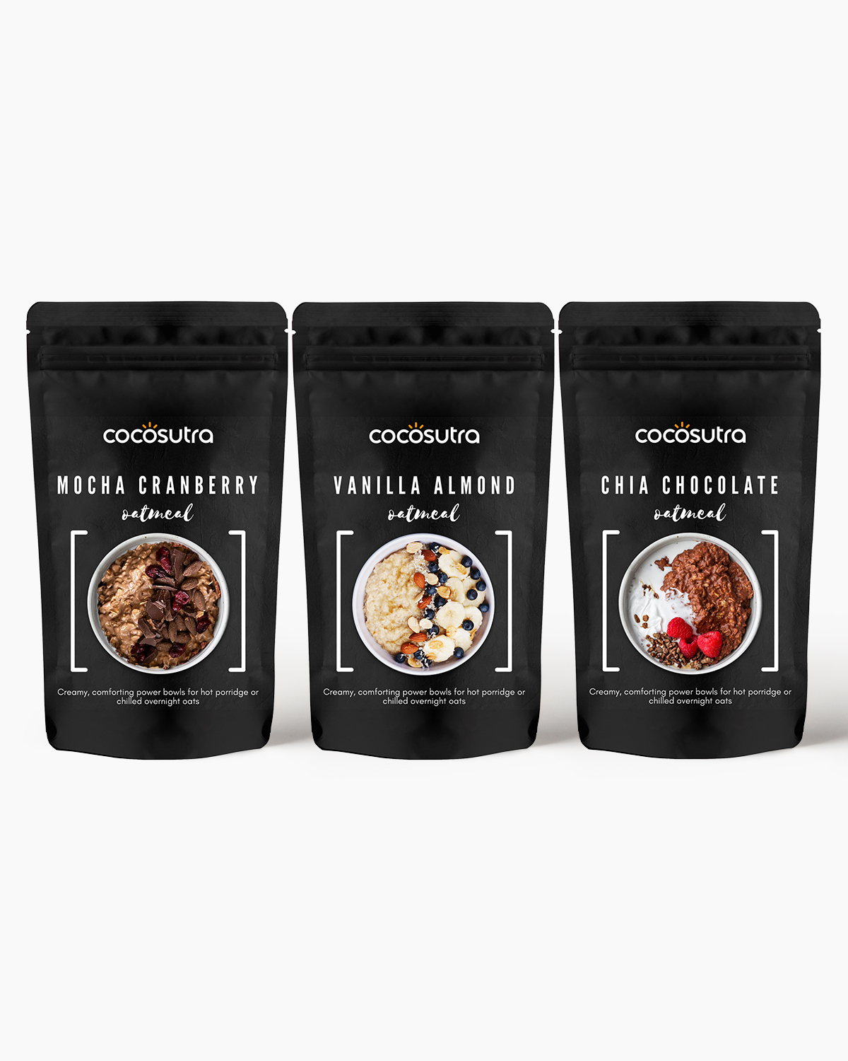 Cocosutra Oatmeal - 3 in 1 Protein Rich, Gut Health Hamper - Front