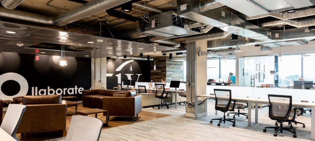 wide angle view of cocotiv coworking