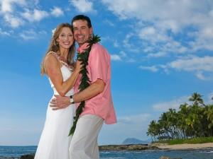 ハワイで挙式もロマンチック