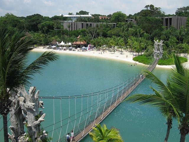 カップル旅行でシンガポール。セントーサ島
